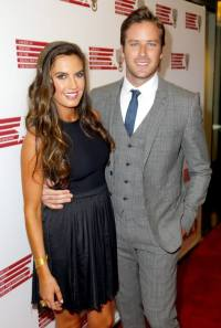 ctress Elizabeth Chambers and actor Armie Hammer