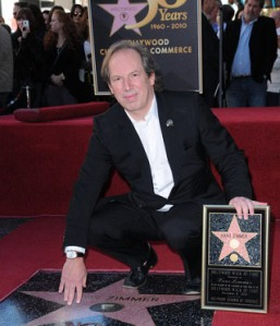 Hans Zimmer Honored with a Star on the Hollywood Walk of Fame on December 8, 2010